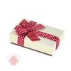 Коробка подарочная Бант в горошек, цвет МИКС 8 см × 5 см × 2 см