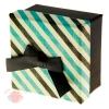 Коробка подарочная Полоска 9 х 9 х 5,5 см