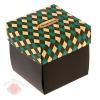 Коробка складная С праздником 11 х 11 х 11 см