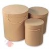 Коробки крафт коричневый 3 шт