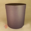 Коробки круглые Крафт однотонный 23*21 фиолетовый