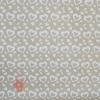 Крафт бумага Сердечки белый на коричневом фоне 70 см х 8,5 м