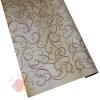 Крафт бумага Серпантин коричневый на коричневом фоне 70 см х 8,5 м