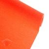Креп для цветов простой цвет красно-оранжевый 50 см х 2,5 м
