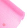 Креп для цветов простой цвет ярко-розовый 50 см х 2,5 м