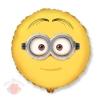 Круг Дейв лицо Minion Dave face