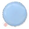 Круг Светло-Голубой Rnd Blue baby
