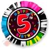 Круг Цифра 5 С днем рождения