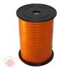 Лента с Золотой полоской бобина 0,5 см Оранжевая