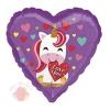 LOVE YOU Единорог с сердцем S40