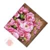 Мини–открытка Цветочная доска 7 х 7 см