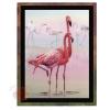Набор для вышивания крестом Фламинго 30*40 см
