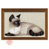 Набор для вышивания крестом Тайская кошка 38*26 см
