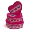 Набор коробок 3 в 1 Линия любви сердце