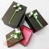 Набор коробок 3 в 1 Стильный подарок Шоколадный прямоугольник