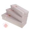 Набор коробок 3 в 1, цвет розовый