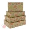 Набор коробок 4 в 1 Совы ажурные крафт