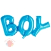 """Надпись """"Мальчик"""" в упаковке 36""""/91*36 см"""