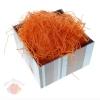 Наполнитель декоративный бумажный 50 гр цвет оранжевый