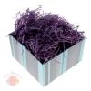 Наполнитель декоративный бумажный 50гр, цвет фиолетовый