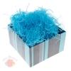 Наполнитель декоративный бумажный 50гр, цвет ярко-голубой