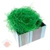 Наполнитель декоративный бумажный 50гр, цвет зеленый
