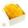 Наполнитель декоративный бумажный 50гр, цвет желтый