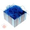 Наполнитель декоративный бумажный 50гр цвет синий