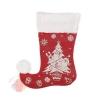 Носок для подарков Волшебство ёлочка с подарками 18 см × 25 см