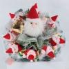 Новогодний букет из игрушек 1 big Santa Claus and 8 small Santa Clauses