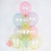 Облако шариков без рисунка «Ассорти (мыльные пузыри)» 11 шт.