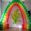Оформление шарами на 8 марта вариант 1