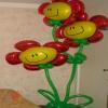 Оформление шарами на 8 марта вариант 3