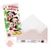 Открытка-конверт для денег Сладкого нового года!, Микки Маус и друзья