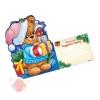 Открытка письмо Деду Морозу Мишутка