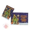 Открытка-подвеска С Новым Годом! ёлочка,мини 11 см × 8 см
