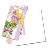 Открытка поздравительная С 8 марта, нежные тюльпаны 20*21 см