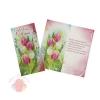 Открытка С Днем 8 Марта! тюльпаны 21 см × 21 см