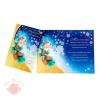 Открытка С Новым годом и Рождеством шишки  18,5 × 24,5 см