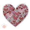 Открытка-валентинка Дарю тебе свое сердечко 9 х 9 см