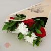 Пакет для цветов Пожелание кувшин