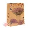Пакет крафт Горная лаванда 19 х 8 х 24 см