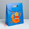 Пакет с клапаном «Весёлого праздника», 26 × 32 × 12 см