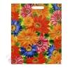Пакет Цветы полиэтиленовый с вырубной ручкой 47 см × 38 см