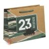 Пакет вертикальный крафтовый Танки наши быстры, M 26 × 30 × 9 см