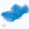 Перья Голубые, 13-15 см, 30 шт.
