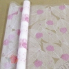Пленка Божья коровка на листе бело-розовые, 190 г