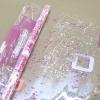 Пленка Квадро малиновый, 190 г