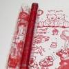Пленка Мишки красный, 190 г