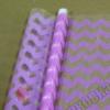 Пленка Шеврон розовый, 190 г